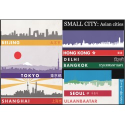 Small City around the World pack 1: Asian cities